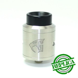 Дрипка GOON V1.5 RDA 24 mm. Silver (High copy)