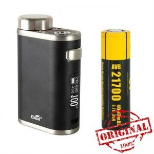 Бокс мод Eleaf Pico 21700 Mod 100W Black + аккумулятор 21700 (Оригинал)