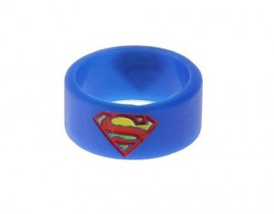 Вейп бэнд (Vape Band) синий SUPERMAN 22x10 мм.