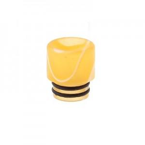 Дрип тип (Drip Tip) 510 акриловый Yellow