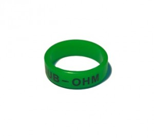 Вейп бэнд (Vape band) зеленый SUB-OHM 22x7 мм.