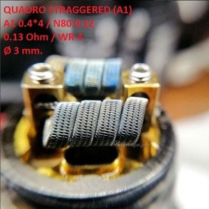 Спираль HM Quadro staggered - A1 (2 шт. - пара)