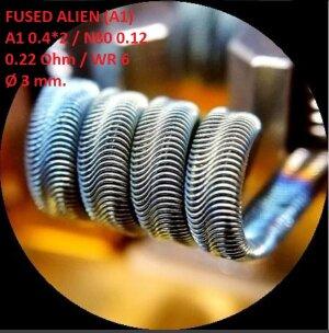 Спираль HM Fused Alien - A1 (2 шт. - пара)