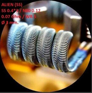 Спираль HM Alien - SS (2 шт. - пара)