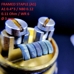 Спираль HM Framed Staple - A1 (2 шт. - пара)
