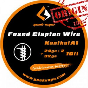 GeekVape 10ft Kanthal A1 Fused Clapton Wire