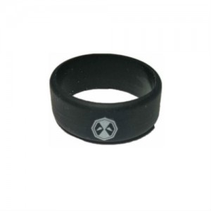Вейп бэнд (Vape band) черный DEADPOOL 26.5x10 мм.