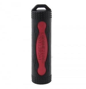 Силиконовый чехол для аккумулятора 18650 (черный)