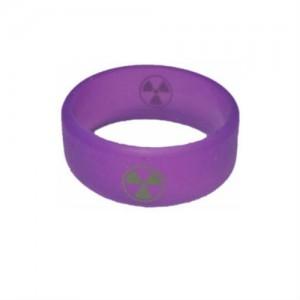Вейп бэнд (Vape band) фиолетовый HULK 26.5x10 мм.