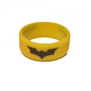 Вейп бэнд (Vape band) желтый BATMAN 26.5x10 мм.
