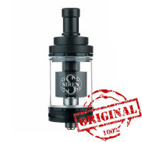 Обслуживаемый атомайзер Digiflavor Siren 2 MTL GTA 24 mm. 4.5ml Black (Оригинал)
